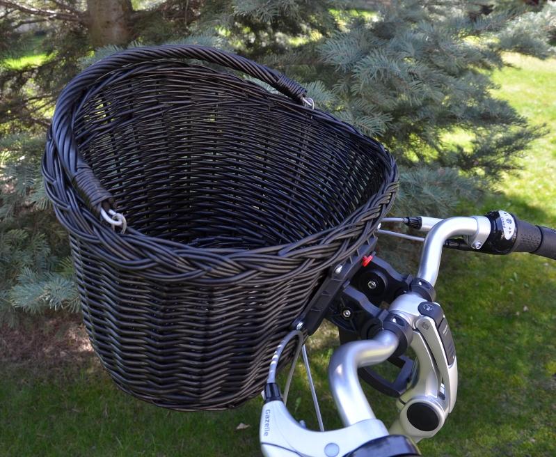 c483866eae5c64 Koszyk wiklinowy na rower przód Click czarny, www.ottlik.pl sklep ...